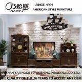 Quarto de alta qualidade do mobiliário de madeira sólida tórax gaveta (como801)