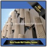 Un design moderne spécial Panneau en aluminium perforé pour système de façade