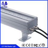 좋은 품질 알루미늄 합금 RGB LED 벽 세탁기 점화 12W 옥외 IP65
