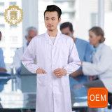 Пальто лаборатории стационара OEM оптовой подгонянное фабрикой, форма нюни, форма стационара медицинская