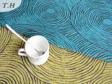 Tissu simple solide de sofa de Chenille de tissu de Gemotrical avec la couleur 145cm