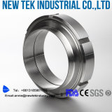 Sanitary European Fitting 304 en acier inoxydable SMS Round Nut