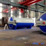 autoclave de curado de goma industrial horizontal de la vulcanización de 2500X6000m m