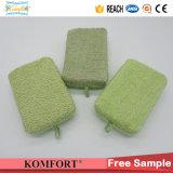 Commerce de gros du charbon de bois de Bambou Sisal spa douche salle de bain éponge tampon