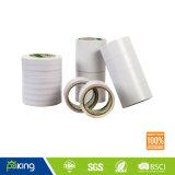 強い付着と紙テープ二重側面のティッシュ