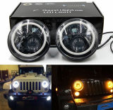 """7 """" Koplamp om 50W met de Ring van de Halo voor Jeep Wrangler"""