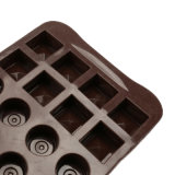 Molde material del silicón de la categoría alimenticia del certificado del FDA, diverso molde de /Chocolate del molde del pudín del silicón de la dimensión de una variable 3