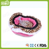 Het Bed van het Huisdier van de Druk van de luipaard voor Hond of Kat