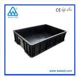 Boîte en plastique conteneur antistatique