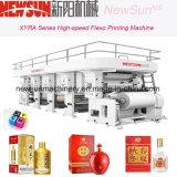 Xyra-850 High-Speed Wine Package Máquina de impressão de linha flexográfica