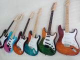 Guitarra eléctrica del St del diseño único de la fábrica de la guitarra de Aiersi de la marca de fábrica de los E.E.U.U.