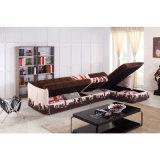 Base di sofà a forma di L moderna con grande memoria