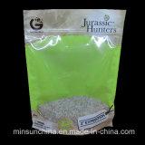 Fastfood- Aluminiumfolie-Reißverschluss-Plastiktasche für das Imbiss-Verpacken