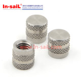 Noix moletées de pouce d'acier inoxydable