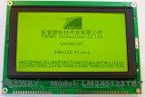 240X128 도표 LCD 디스플레이 옥수수 속 유형 LCD 모듈 (LM240128T)