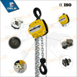 Bloque de cadena manual con cadena de carga G80