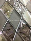 다이아몬드 모양 Luxuary 작풍 유리제 모자이크 타일