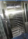 De commerciële Kar van het Verwarmingstoestel van het Voedsel van de Deur van het Roestvrij staal van de Apparatuur van de Keuken Enige Mobiele met Wielen