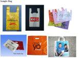 Kaufende Plastiktasche, die Maschinen-Preis für Verkäufe bildet