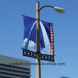 Indicador da bandeira de Pólo da rua do anúncio ao ar livre (BS68)