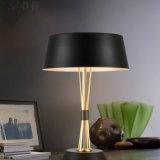 Oro così meraviglioso di disegno & lampada moderna nera dell'indicatore luminoso della Tabella dello scrittorio di lettura per il lato del letto/camera da letto