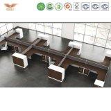Конторской мебели, один стол для рабочих станций 3 человек