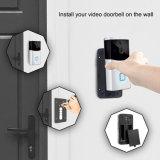 Téléphone de la porte d'Interphone vidéo sans fil avec un téléphone mobile APP