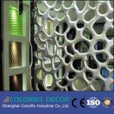 Nuevo diseño de onda de MDF resistentes al fuego los paneles de pared decorativos