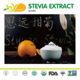 Aditivo alimentar alta doçura natural adoçante stevia Ra 97% para condimento & Tempero