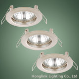 Фикчированное GU10/MR16 Recessed Ceiling Downlight Fixture для Whole Sale