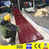 Prezzo trapezoidale d'acciaio popolare delle mattonelle della Sudafrica PPGI