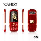 Téléphone mobile de bonne qualité 2.4 design en métal