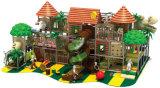 O tema da floresta excitante parque infantil interior comercial