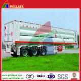 Tube de GNC remorque de camion / Gas Tanker semi-remorque / le GNC