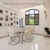 Revestimiento de polvo de aluminio de doble acristalamiento de aislamiento insonorizadas ventana toldo (FT-W70)