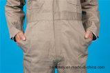 Workwear longo da combinação da alta qualidade da segurança da luva do poliéster 35%Cotton de 65% (BLY1024)