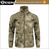 Люди рубашки кожи рубашки воинских людей Esdy ультратонкие Breathable
