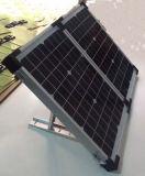 Neuer Portable, der Solarbaugruppe faltet