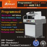 """Oficina de la pantalla táctil de 7"""" de control de microcomputadora programado 800 hojas 460 Precio Cortador de papel"""