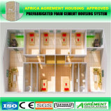 El edificio de la instalación rápida/móvil modular/prefabricado/prefabricaron la casa de acero