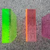 Folhas de PMMA acrílico colorido para caixa de luz.