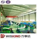El tramo largo edificio de estructura de acero prefabricados para taller/almacén