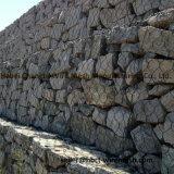 Pesadamente jaulas galvanizadas cinc del acoplamiento de alambre de Gabion para las rocas