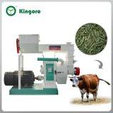O anel horizontal morre a máquina da pelota da alimentação animal para o gado