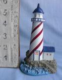 工場価格のPolyresinのミニチュア灯台記念品のクラフト