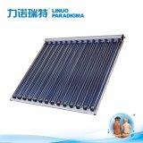OEM proyecto a gran escala de colectores solares de tubo de vacío CPC