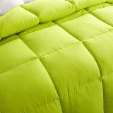 Königin-Königfull Cheap Plain Polyester füllende Duvet-Steppdecke
