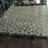 중국 노란 Decoratvie 유리 3.8mm 가격