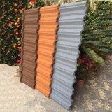 Les fabricants produisent de la couleur d'alimentation Low-Priced Stone tuile de toit