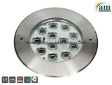 LED de acero inoxidable de 18W luz enterrada